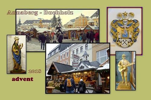 Vánoční trhy na hradě Loket a saský Annaberg