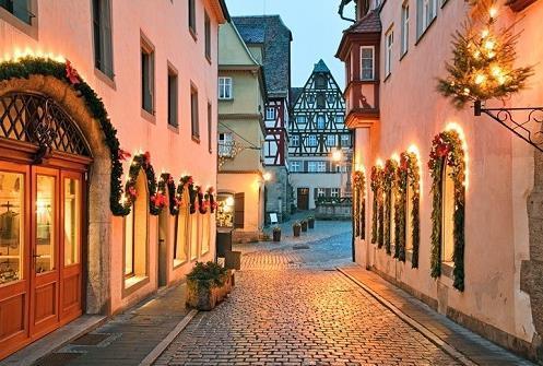 Adventní Romantická cesta Německa