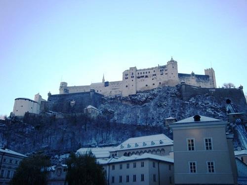 Český Krumlov a Salcburk v době adventu